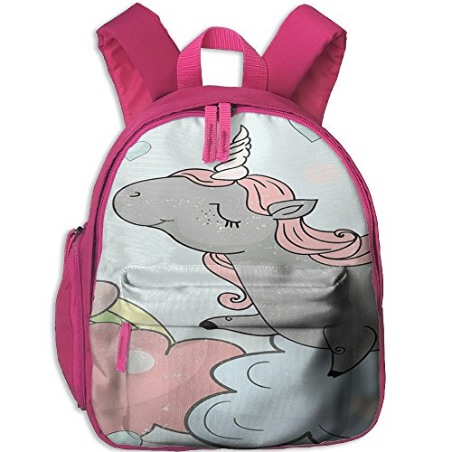 Little Girls Boys Personalized Waterproof Toddler Backpack With Adjustable Shoulder Straps Unicorn Horse Printed Snack Backpack Gift For Children In Pre School Or Kindergarten