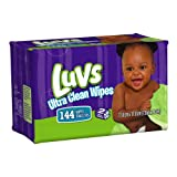 Health & Personal Care : Luvs Ultra Clean Wipes 2x Refills 144 Count (Pack of 8)