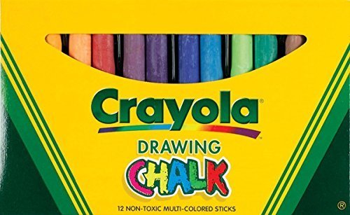 Crayola Colored Drawing Chalk Asst (2 pack)