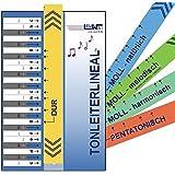 Tonleiterlineal: DUR bis MOLL