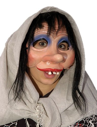 Zagone Mrs. Bashful Mask, Goofy, Shy Female -