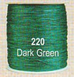 #220 Dark Green Chainette Shawl Fringe - 1800 ft Spool