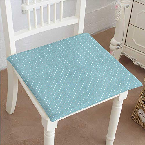 Office Cottage Modular (Mikihome Indoor/Outdoor All Weather Chair Pads Classic Polka Dots Vintage Design Stylish Cottage Country ations Light Blue White Seat Cushions Garden Patio Home Chair Cushions 28