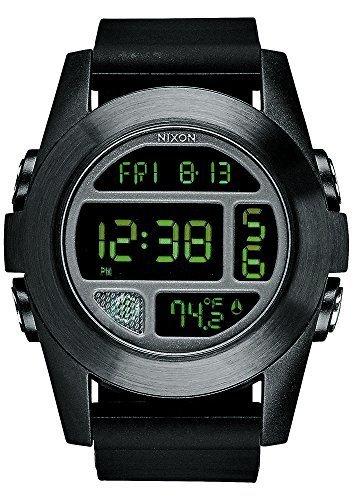 nixon unit watch black - 6