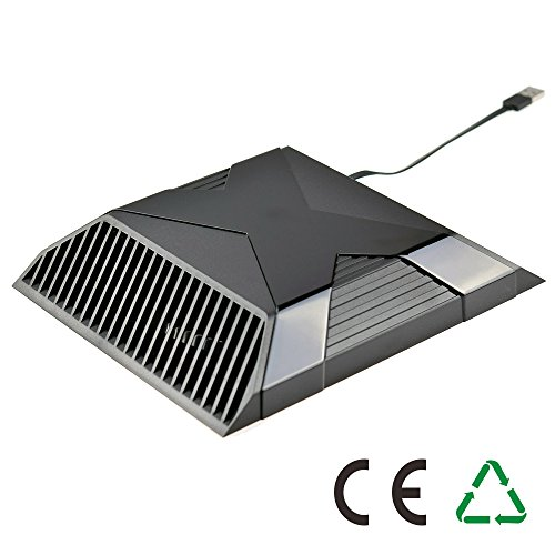 ElementDigital Cooling Fan for Xbox One, Auto Sensing USB Cooler Fans for Microsoft Xbox (Top Intercooler)