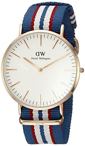 Daniel Wellington Men's 0113DW Classic Belfast Analog Display Quartz Multi-Color Watch