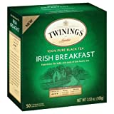 Twinings Irish Breakfast Black Bagged Te