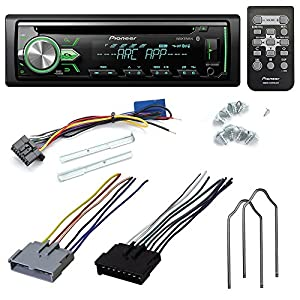 pioneer stereo wiring harness automotive parts online com pioneer deh x4900bt cd receiver aftermarket car stereo radio install kit wire harness radio