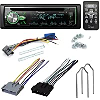 PIONEER DEH-X4900BT CD RECEIVER AFTERMARKET CAR STEREO RADIO INSTALL KIT WIRE HARNESS + RADIO REMOVAL TOOL FOR SELECT FORD MAZDA NISSAN VEHICLES