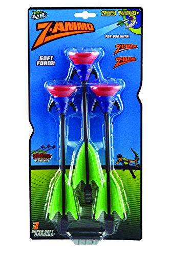 Zing 3 Suction Cup Arrows Replacement, Black and Green (Darts Suction Cup)