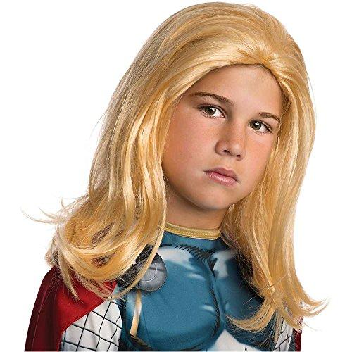 Thor Kids Wig - One Size