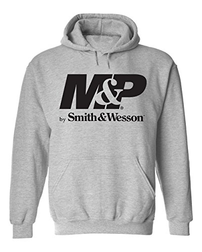 Smith & Wesson M&P Authentic Logo Pullover Hoodie - Officially Licensed
