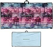 Uther Premium Golf Towel - Tour Large Golf Towel (Deserted Dream)