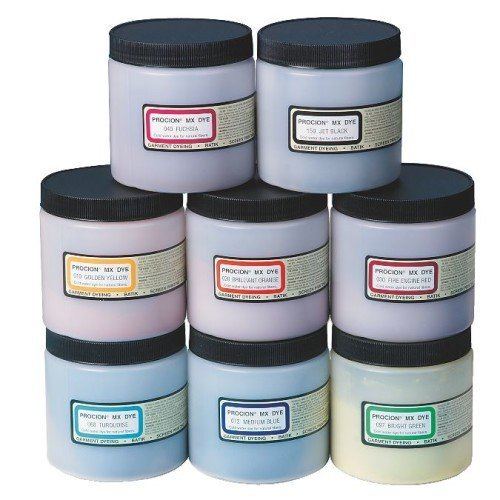 - Procion PMX208S Cold Water Dye, Assortment (Pack of 8)