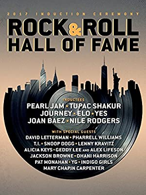 2017 Rock and Roll Hall of Fame Induction Ceremony