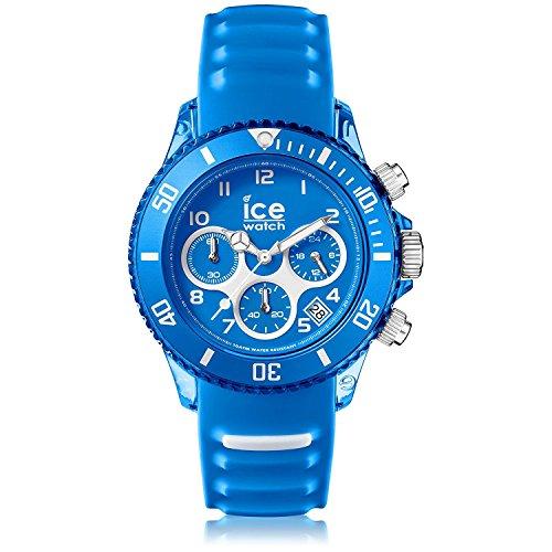 [アイスウォッチ] ICE-WATCH Ice-Aqua Skydiver Blue Silicone Strap Chronograph Watch クォーツ AQ.CH.SKY.U.S.15
