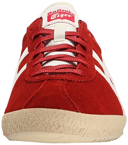 Onitsuka Tijger Mexico Delegatie Mode Sneaker Rood / Licht Wit