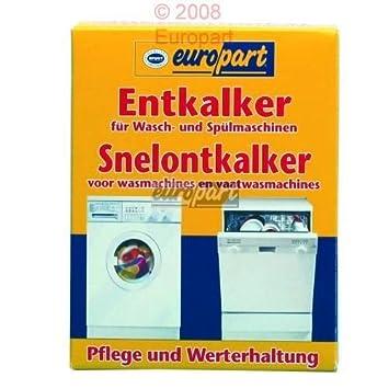 Entkalker Waschmaschine Spulmaschine Geschirrspuler Top Amazon De