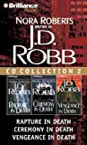 download ebook j. d. robb cd collection 2: rapture in death, ceremony in death, vengeance in death (in death series) pdf epub