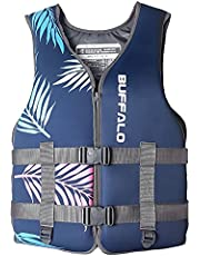 Life Jackets Adult Adjustable Safety Breathable Life Vest for Men and Women Buoyancy Aids for Fishing, Surfing, Rafting, Kayaking
