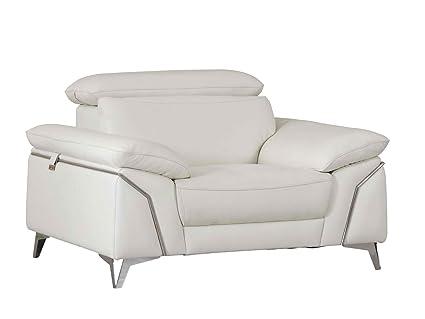 Amazoncom Blackjack Furniture 727 White Ch Regal Modern Italian