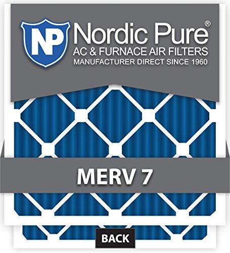Pure 20x24x1M7-6 MERV 7 Pleated AC Furnace Air Filter, 20x24x1, Box of 6 [並行輸入品]