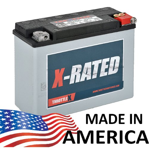 ThrottleX Batteries - HDX50L - Harley Davidson Replacement Motorcycle Battery ()