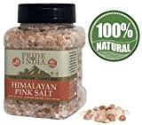 Pride Of India - Pure Himalayan Pink Salt - Enriched w/ 84+ Natural