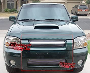 amazon com aps compatible con 01 04 nissan frontier billet grille combo upper lower n87987a automotive aps compatible con 01 04 nissan frontier billet grille combo upper lower n87987a