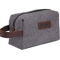 Simpleness is an intriguing beauty.Wowbox shaving Dopp kit bag has a concise appearance but is widely applicable.You need an overnight bag to gather all your daily necessity into one organizer  no matter you are on a business/travelling, and ...