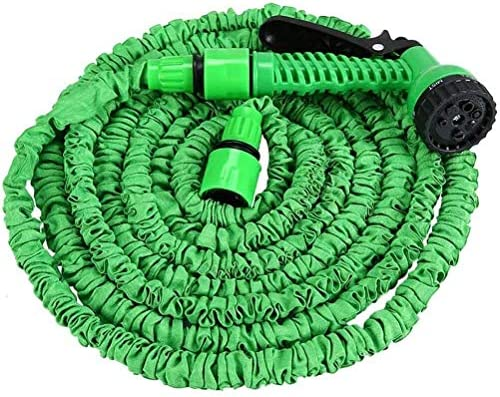 AYCPG Anti-Leakage Garden Hose Expandable Flexible Hose Small No Kink Hose with 7 in 1 Spray Gun Quick Connector Best Choice for Watering/Washing,25FT hfhdqp (Size : 150FT)