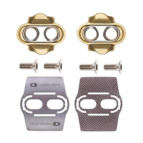 - Crank Brothers Premium Cleats and Bike Shoe Shields MTB Pair: for Eggbeater, Candy, Smarty, Mallet Pedals Etc.