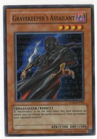 Yu-Gi-Oh! Gravekeeper39;s Assailant (TU02-EN002) -