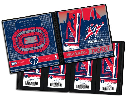 (NBA Washington Wizards Ticket Album, One Size)