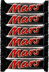 Mars Chocolate Bars, 6-Count (33.8g bars)