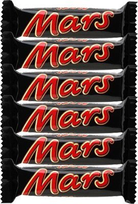 Mars Chocolate Bars Treat Size Small 6 Bars (33.8g bars)