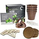 Planters' Choice Organic Herb Growing Kit + Herb