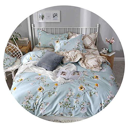 cc2e5ce02f8d54 Liv-Esthete Fashion Flamingo Blue Bedding Set Duvet Cover Bedspread Flat  Sheet Double Queen King