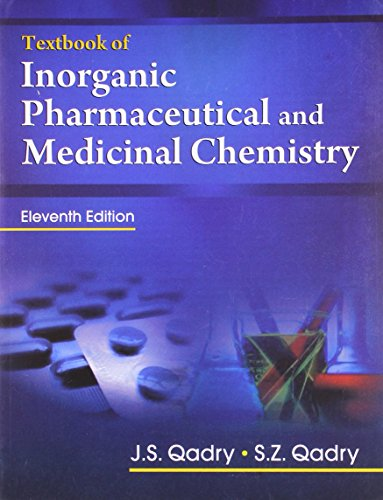 Textbook of Inorganic Pharmaceutical and Medicinal Chemistry