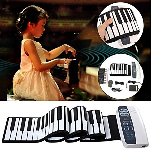 DoReMi S-88 Professional 88 Key Roll Up Piano with MIDI Keyboard