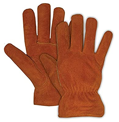 Boss Gloves 4176B Ladies' Pile Insulated Split Leather Driver