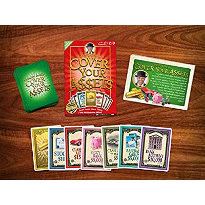 Grandpa Beck's Cover Your Assets Card Game | Fun Family-Friendly Set-Collecting Game | Enjoyed by Kids, Teens, and Adults | From the Creators of Skull King | Ideal for 2-8 Players Ages 7+: Toys & Games