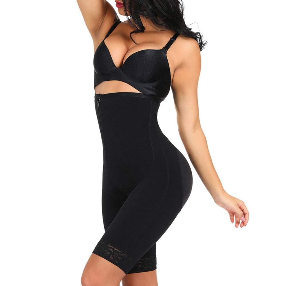 JWANS Womens Full Body Shaper Slimming Underwear Butt Lifter Bodysuit Waist Shaper with Side Zipper Tummy Control Push Up Shapewear Corset