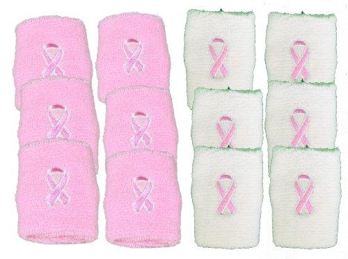 Pink Ribbon Wristband - 5