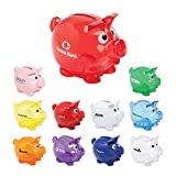 150 Personalized Small Piggy Bank Printed with Your Logo or Message