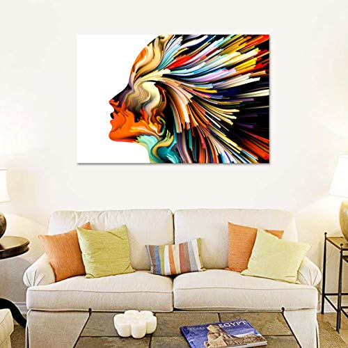 Soul Style Canvas Wall Art - Ready to Hang - Home Office Decor Picture Prints for Living Room, Bedroom - 45