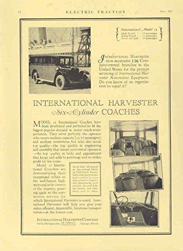 1927 International Bus Ad Bosch Magneto (Bosch Magneto)