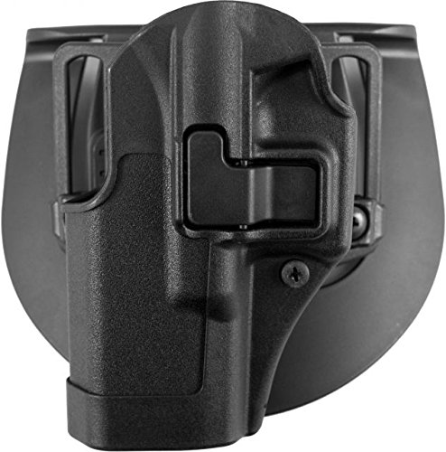 BlackHawk CQC Concealment Holster Matte Finish Glock 19 / 23 / 32 / 36, BLACK, Left hand (Blackhawk Special Operations Holster)