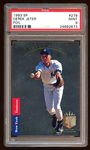 9 Derek Jeter 1993 Sp Rookie Rc Foil Sp Amazing Looking 10 Quality ! - PSA/DNA Certified - MLB Autographed Baseball Cards