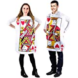 Tigerdoe King and Queen Card Costume - Poker Cards Costume - Couple Costume - King of Hearts Costume - Queen of Hearts